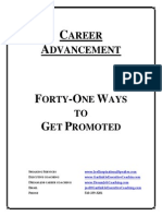 41 Ways to Get Promoted
