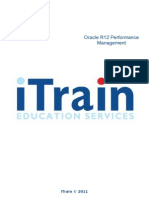 Oracle R12 Performance Management