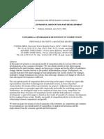 Pier-paolo-saviotti Towards a Generalised Definition of Competitiveness f Important Evolutia Concurentei
