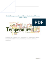 Global Temperature Sensor Market Analysis and Forecast (2013 – 2018)