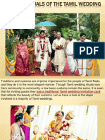 Soulful Rituals of the Tamil Wedding