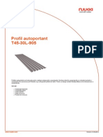Profil Autoportant T45 30L 905