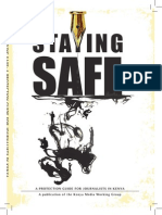 Safety Protocol and Manual for Journalists Staying Safe
