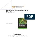 9781782167853_Python_3_Text_Processing_with_NLTK_3_Cookbook_Sample_Chapter