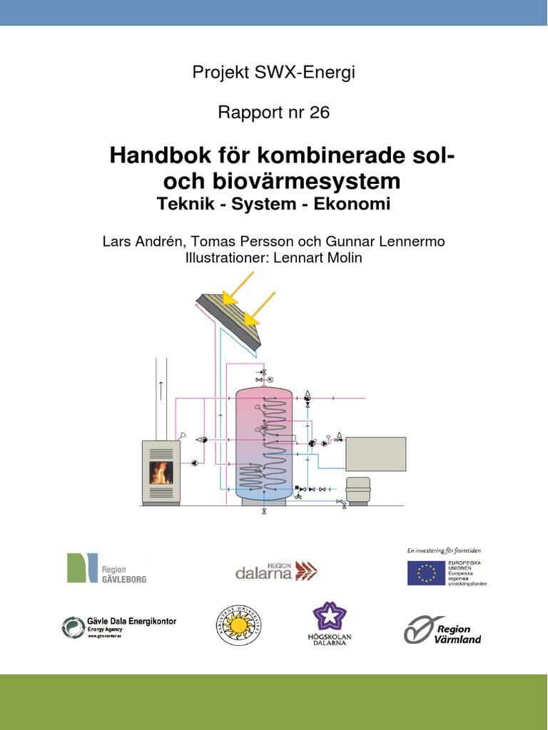 Handbok solbiovärmesystem
