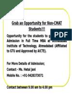 Advertisement MBA