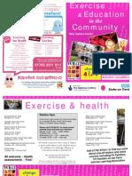 WEA Health Programme current January 2010