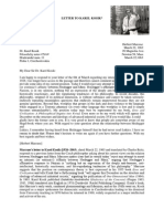 Marcuse's Letter to Karel Kosik
