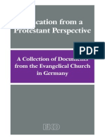 Education From Protestant Perspective