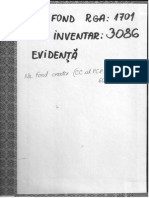 Amintiri, Memorii si Insemnari ale Unor Personalitati despre Situatia Economico-Sociala si Politica din Romania. 1882-1972. Inv. 3086