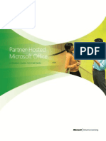 Hosted Microsoft Office Licensing Brief