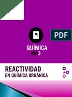 Reactividad en Quimica Organica2