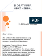 Interaksi Obat Kimia Dg Obat Herbal