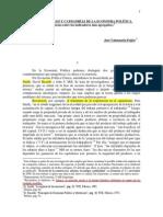 Cuentas Nacionales y Categorías de La Economia Política(1)