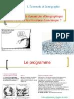 Theme 1-Comment La Dynamique Demographique-Influe-t-elle Sur La Croissance 2013-2014