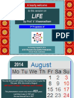2014Aug24 - Life [v - R3] - Presentation made at We Empower - [ Please download and view to appreciate better the animation aspects ]