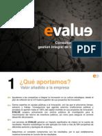 Catalogo Corporativo Evalue 2014