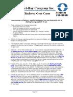 Flushing Procedure - Enclosed Gear