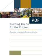 Dissertation Sustainable Development Practices