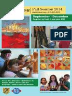 Main Line Art Center Fall 2014 Brochure