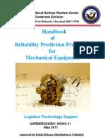 Handbook Prediction of Mechanica Failure