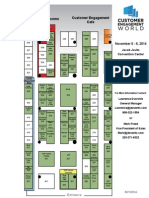 Consumer Engagement World 2014 Floor plan