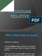 Pronouns Relative