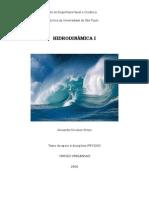 Hidrodinâmica Pnv5200 Apostila 2007