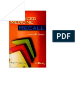 Advanced Medicine Recall-A must for MRCP
