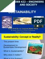 COEB422 - Sustainability