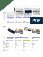 Comparatie imprimante