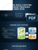 Change Data Capture and Change Tracking Deep Dive