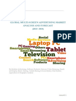 Global Multi-screen Advertising Market Analysis and Forecast (2013- 2018)