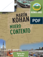 Muero Contento Martín Kohan