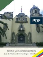 Guía de Trámites e Iformación Para Colombianos en Sevilla