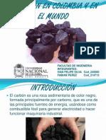 Carbón en Colombia y en El Mundo