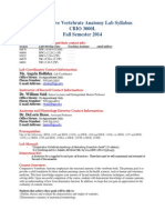 CBIO 3000L Lab Syllabus_Fall2014