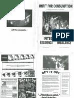 Unfit for Consumption - No.01 (1999)