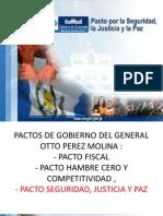 Analisis Pacto de Seguridad, Justicia y Paz Completo