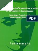 Nuñez Puente, Sonia - La Representacion Presencia de l a Mujer en Los Medios de Comunicacion