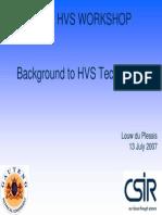 HVS 2007