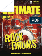 Ultimate Guide to Rock Drums FREE SAMPLE