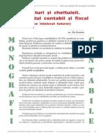 Venituri Si Cheltuieli. Rezultatul Contabil Si Fiscal