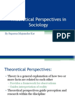 Theoretical Perspectives in Sociology