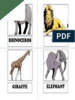 Animal Flash Cards 1