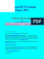 Download IELTS Sample Papers 2013
