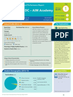 KIPP DC - AIM Academy PCS Performance Report 2013