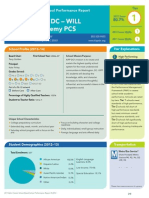 KIPP DC - WILL Academy PCS Perfomance Report 2013