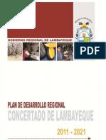 Plan de DesarrolloRegional Concertado de Lambayeque_2011_2021