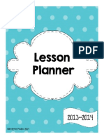 Lesson Planner Freebie